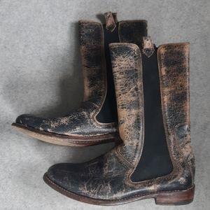 Bedstu Ginger Boots size 8 in black lux